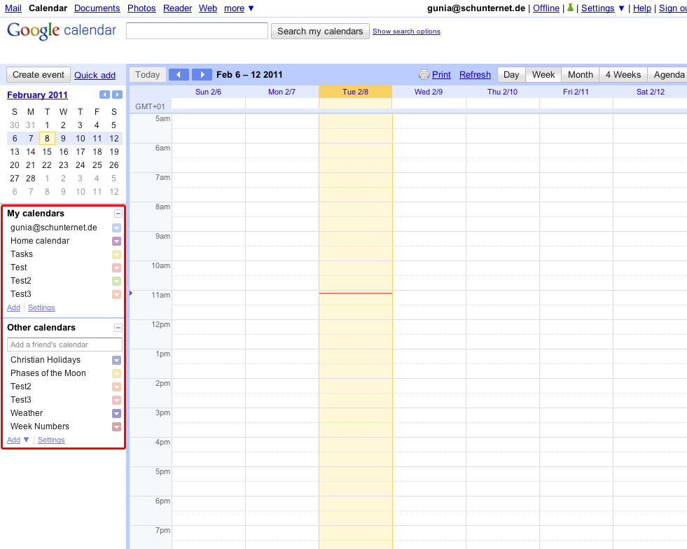 Calendar Typography Zoom : Missing events  for android™