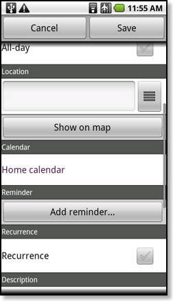 how to change google calendar appointment color