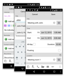 how to make attendees in google calendar invite optional